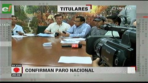 Video titulares de noticias de TV – Bolivia, noche del miércoles 13 de diciembre de 2017