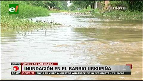 Santa Cruz: Lluvia trae problemas en vías céntricas de la ciudad