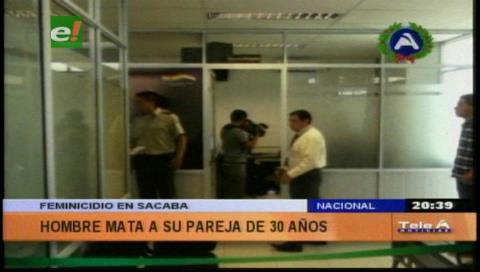 En Sacaba mujer muere por presunto feminicidio
