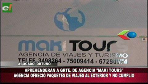 Denuncian a la Agencia de viajes Maki Tours por estafa