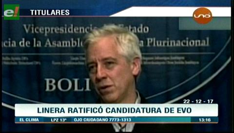 Video titulares de noticias de TV – Bolivia, mediodía del viernes 22 de diciembre de 2017