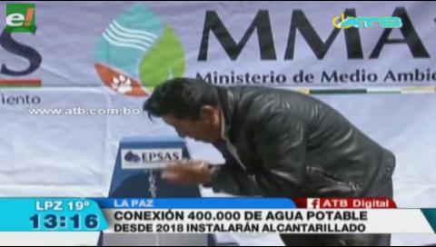 Epsas instaló 400 mil conexiones de agua en el municipio de Laja