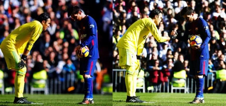 Liga de España: Qué le dijo Keylor Navas a Lionel Messi antes de patear el penal