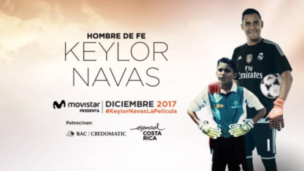 Keylor Navas estrena su película en Costa Rica