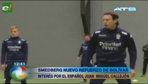 Smedberg es el nuevo refuerzo de Bolívar