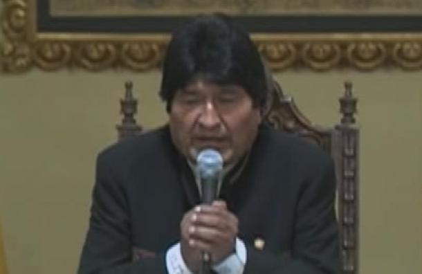 Presidente Evo Morales no estará en Sucre para el 25 de mayo