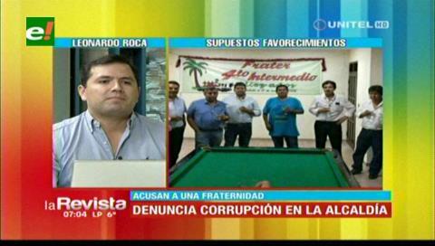 Denuncian presunto favorecimiento en adjudicaciones para obras de la Alcaldía cruceña