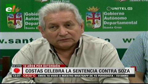 Costas: El fiscal Soza fue un 'verdugo' y 'mercenario' que merecía una condena mayor