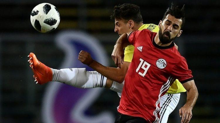 El seleccionado colombiano se mide ante el combinado egipcio en Bérgamo, Italia (AFP)