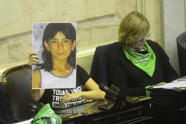 Debate por la ley de despenalización aborto en Cámara DiputadosFoto David Fernández