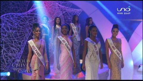 Las 8 semifinalistas del Miss Bolivia Universo 2018