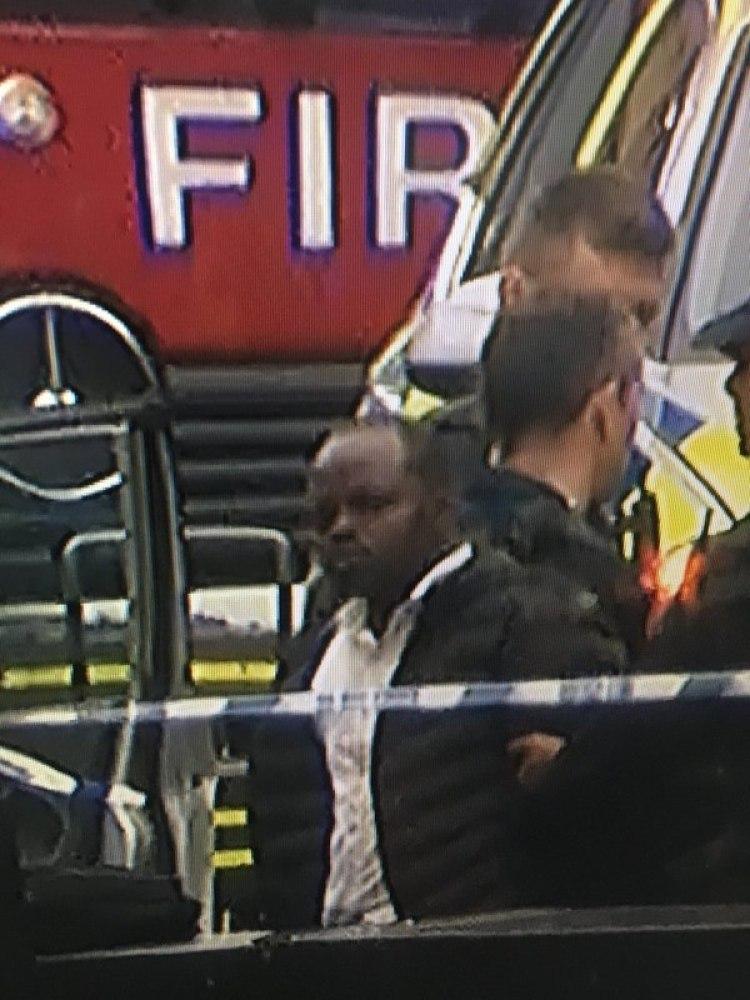 Una primera imagen del conductor arrestado, sospechado de terrorismo