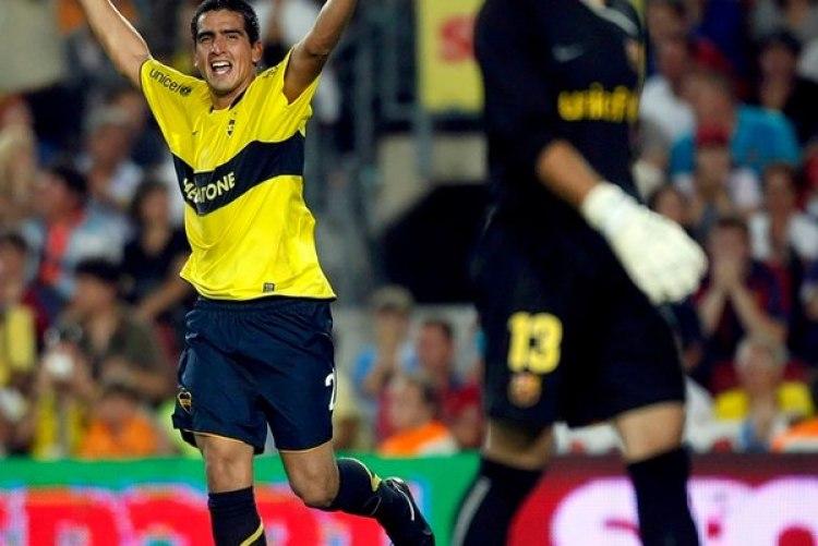 Lucas Viatri marcó en el Camp Nou