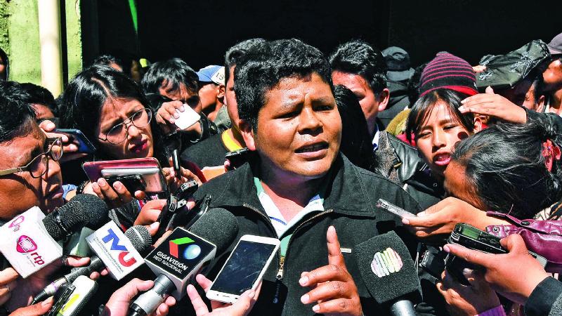 Adepcoca denuncia a la CIDH violación de la CPE, represiones y amedrentamiento