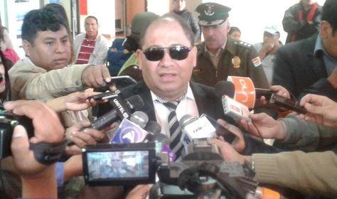 El ministro Carlos Romero en la rueda de prensa de este jueves.