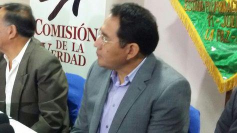 El fiscal General, Ramiro Guerrero