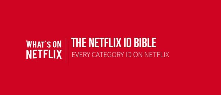 Explorar nuevas categorías en netflix