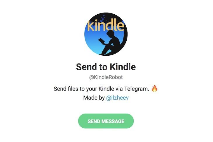 Kindle Robot