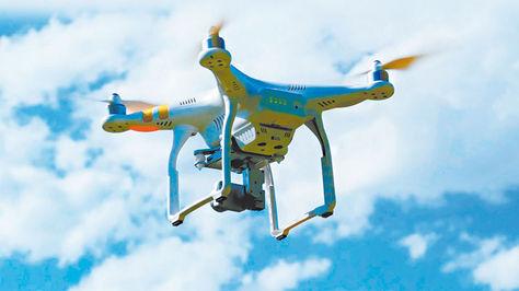Vuelo de drones