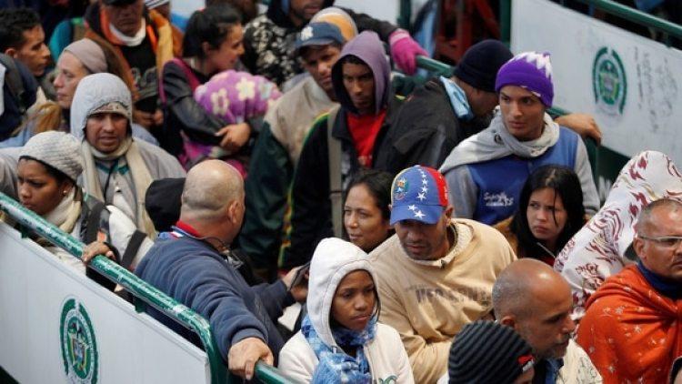 La ONU indicó que más de 2,2 millones de venezolanos ya huyeron de la crisis (Reuters)
