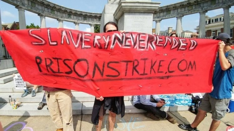 """Los presos denuncian que sus condiciones de trabajo son como en """"la esclavitud"""""""