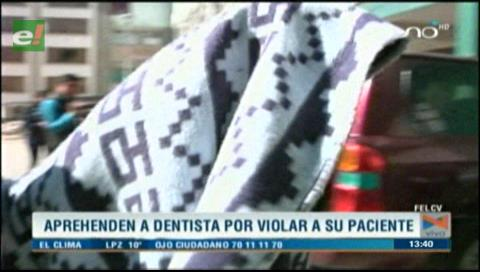 Detienen a dentista acusado de abusar a su paciente