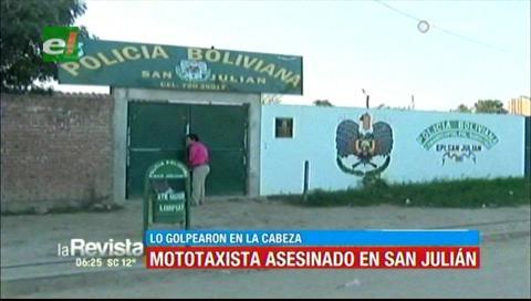 San Julián: matan a joven mototaxista con golpes en la cabeza