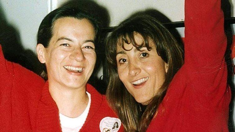 Clara Rojas y la entonces candidata a la presidencia Ingrid Betancourt