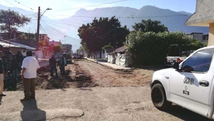Las calles de Ciudad Mendoza han sido protagonistas de múltiples asesinatos en menos de 48 horas. (Foto: Facebook Sucesos de Veracruz)