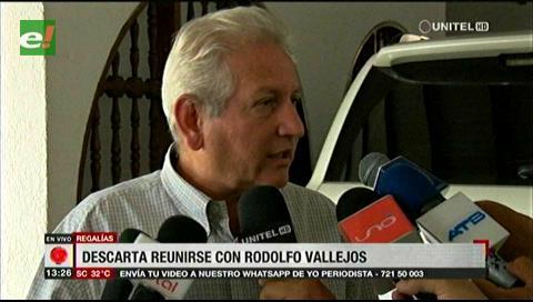 Rubén Costas descarta reunirse con AMDECRUZ y niega que haya conflictos con las alcaldías