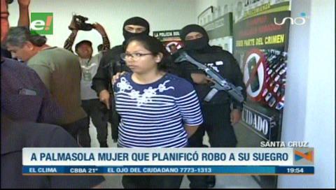 Santa Cruz: Mujer planificó un robo a sus suegros