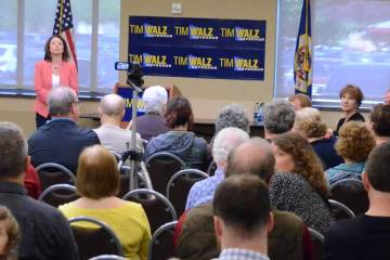 Tim Walz and Angie Craig in CD2