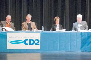 The CD2 DFL gubernatorial forum featured all six candidates.