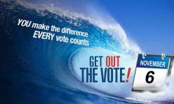 A blue wave is coming in November