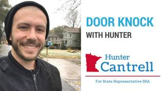 Sunday Door Knock with Hunter