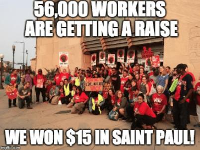15 Won! Saint Paul Victory Party @ Saint Paul Regional Labor Federation