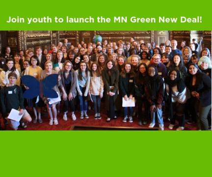 Our Future, Our Right: Launch the MN Green New Deal w MN Youth @ Minnesota State Capitol