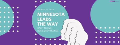 Rally to End Domestic Violence in Minnesota! @ Minnesota State Capitol