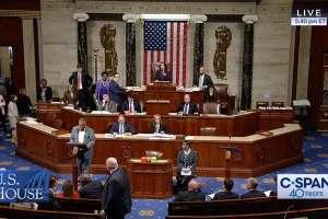 Rep. Craig presiding over the U.S. House of Representaitives.