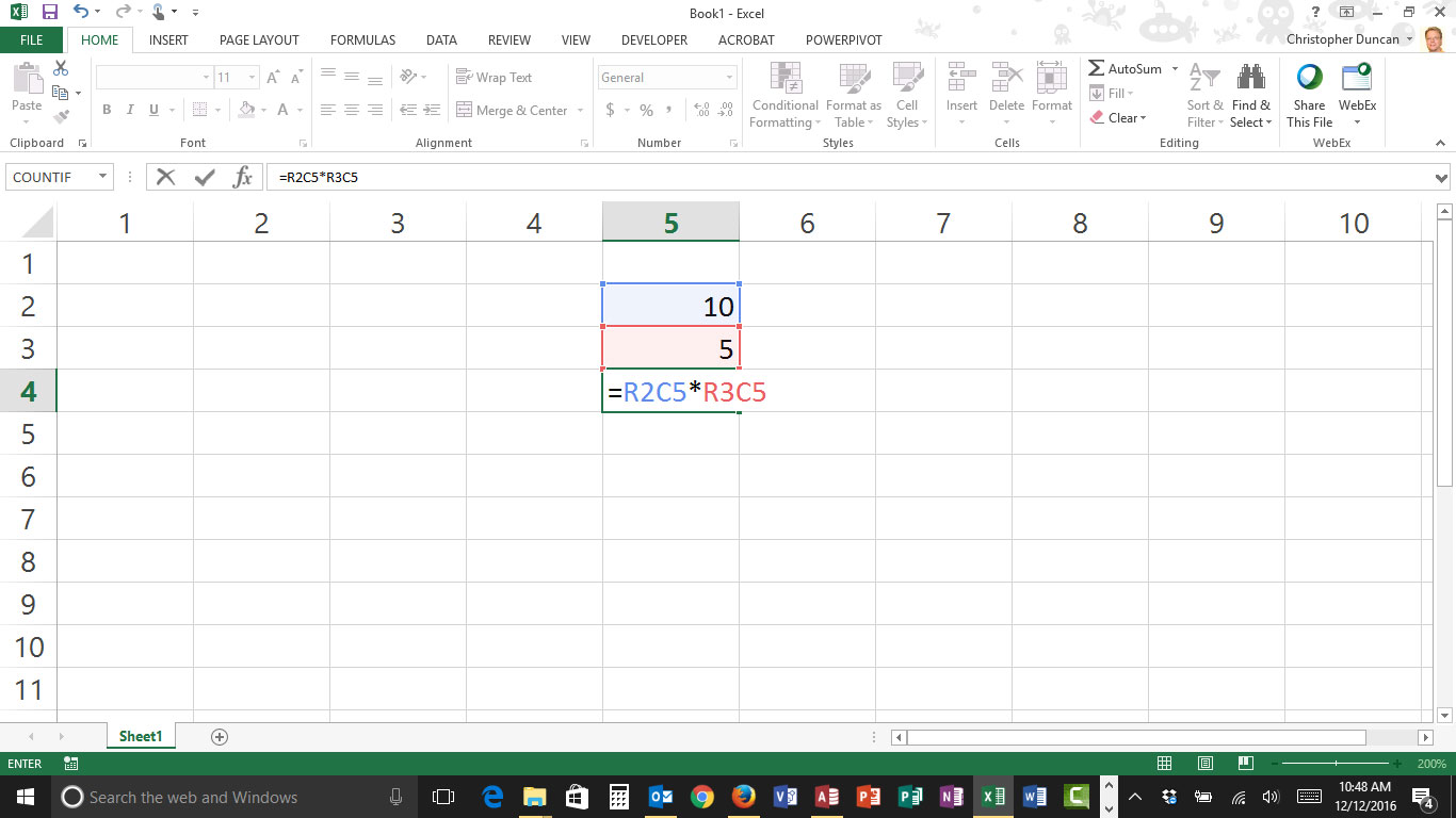 When Excel Columns Become Numbers Instead Of Letters