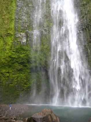 Finally, the base of Hi'ilawe Falls!