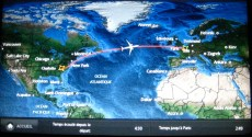 The single greatest thing about long flights is the map.