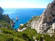 Our first view of Callanque Sugiton. Wow!
