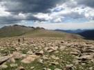 Heading toward Stormy Peaks