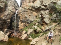 The lovely Horsetooth Falls