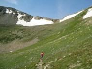East side of Buchanan Pass