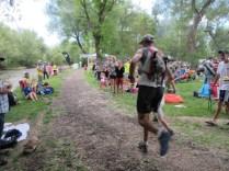 Mile 100: Now we sprint.