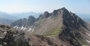 Snow Peak from Pt. 12835