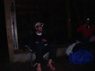 Zen Monkey (NOBO) at Peter's Mountain Shelter