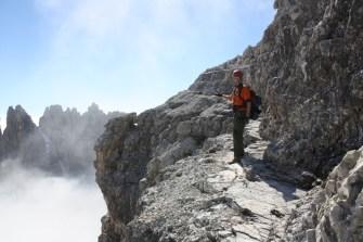 Ledges near the summit.